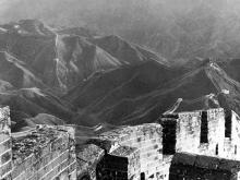 la muraille de Chine, photo de Ron Hubbard